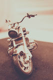 The Motorcycle stock photography