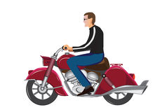 Motorcycle Stock Image