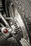 Motorcycle chain Royalty Free Stock Photography
