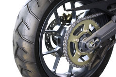 Motorcycle chain Stock Image