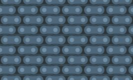 Motorcycle chain seamless pattern Stock Photos