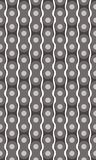 Motorcycle chain seamless pattern Stock Photography