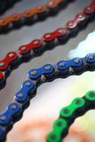 Motorcycle chains Royalty Free Stock Images
