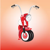 Motorcycle. Chalee  it vector best seller style Stock Photo