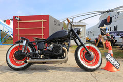 Motorcycle chopper Stock Images
