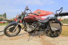 Motorcycle chopper Royalty Free Stock Photo