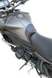 Motorcycle chrome metal grille Royalty Free Stock Images