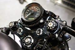 Motorcycle classic speedometer Royalty Free Stock Photo
