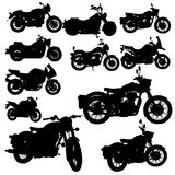 Motorcycle classic vector Stock Photography
