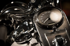 Motorcycle Close-up Stock Images