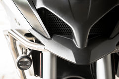 Motorcycle. Close up motorcycle in modern style Royalty Free Stock Photos