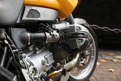 Motorcycle Closeup