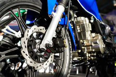 Motorcycle closeup Stock Images