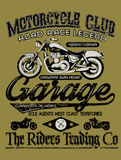 Motorcycle club Royalty Free Stock Images