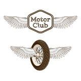 Motorcycle club logo emblem Royalty Free Stock Photos