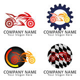 Motorcycle Concept Logo Royalty Free Stock Photography