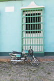 Motorcycle. Cuba Royalty Free Stock Image