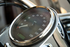 Motorcycle dashboard Royalty Free Stock Photo