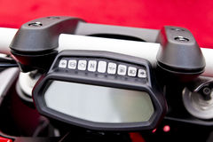 Motorcycle Dashboard Stock Image