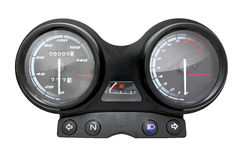 Motorcycle dashboard. Speedometer Royalty Free Stock Photography