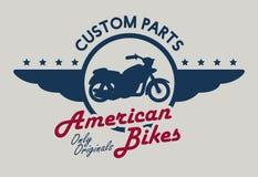 Motorcycle design. Royalty Free Stock Image