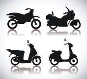 Motorcycle design. Stock Photo