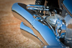 Motorcycle detail Royalty Free Stock Image