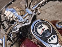 Motorcycle detail Stock Images