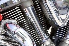 Motorcycle Detail Royalty Free Stock Photos