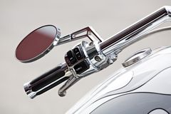 Motorcycle detail stock image