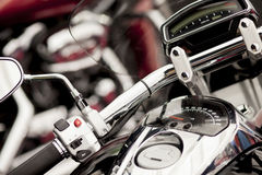 Motorcycle detail Royalty Free Stock Images