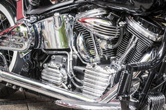 Motorcycle Details Royalty Free Stock Images
