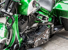 Motorcycle Details Stock Photography