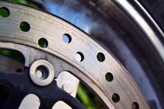 Motorcycle disc brake Stock Photography