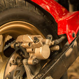 Motorcycle disc brakes Royalty Free Stock Image