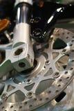 Motorcycle disk brake Stock Image