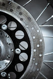 Motorcycle disk brake Royalty Free Stock Photography