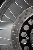 Motorcycle disk brake Stock Photography