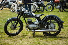 Motorcycle DKW RT175S, 1955 Royalty Free Stock Images