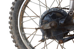 Motorcycle DRUM BRAKE Stock Image