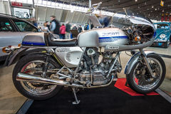 Motorcycle Ducati 750 SuperSport, 1978. Royalty Free Stock Image