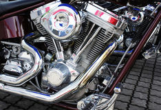 Motorcycle engin Royalty Free Stock Photography
