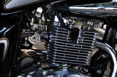 Motorcycle Engine Royalty Free Stock Photography