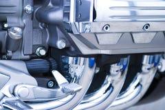 Motorcycle engine Royalty Free Stock Image