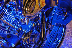 Motorcycle Engine Royalty Free Stock Images