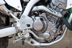 Motorcycle engine. Royalty Free Stock Photography