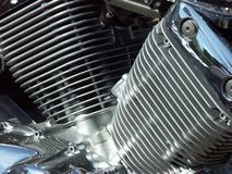 Motorcycle engine 01 Stock Photo