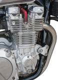 Motorcycle engine closeup Royalty Free Stock Photography