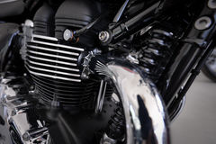 Motorcycle engine design Stock Images