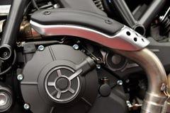 Motorcycle engine motor Stock Image